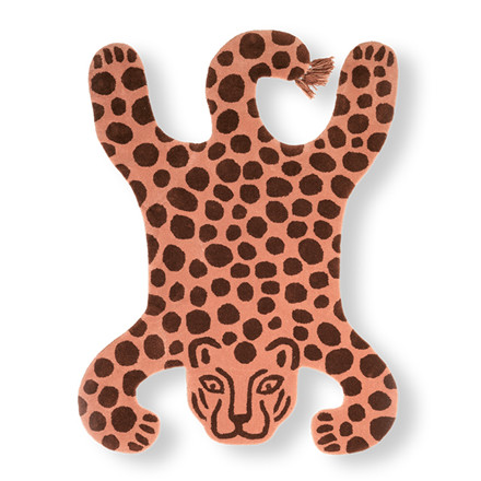 Ferm Living Safari Tufted Rug Leopard
