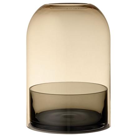 AYTM Tota Lantern Amber/Black Ø 16,2 cm