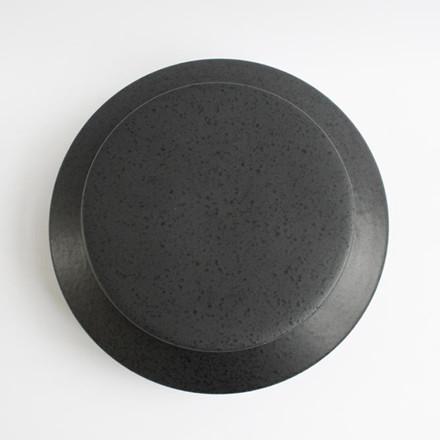 Ania IBSEN Jar With Lid Dark Grey Dots