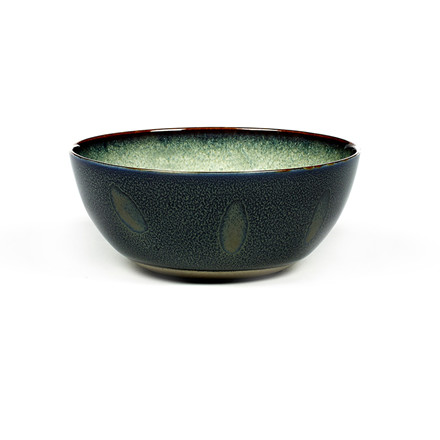 Serax Bowl Medium Misty Grey/Dark Blue