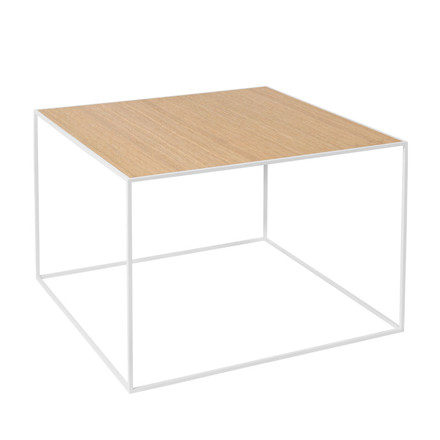 By Lassen Twin Table 49 Oak/Brass