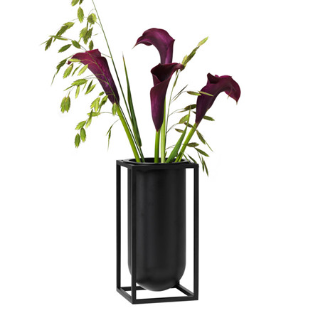 By Lassen Kubus Lily Vase Sort