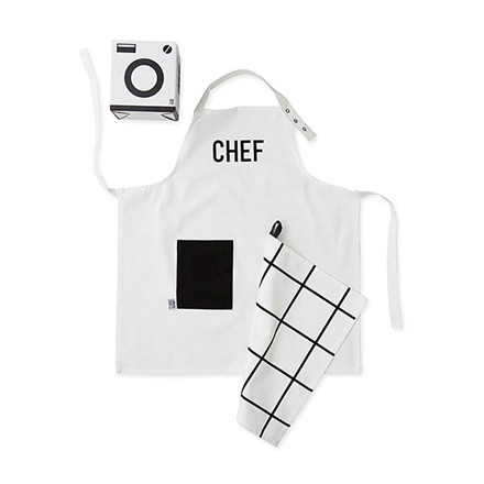 Design Letters Kids Apron & Tea Towel