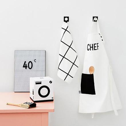 Design Letters Kids Apron & Tea Towel