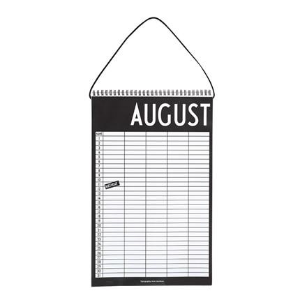 Design Letters Månedskalender
