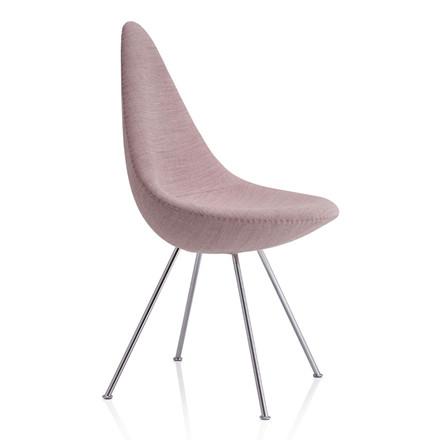 Fritz Hansen 3110 Drop Chair Fuldpolstret Stof