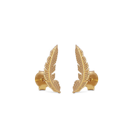 Enamel Copenhagen Birla Earrings Gold-Plated