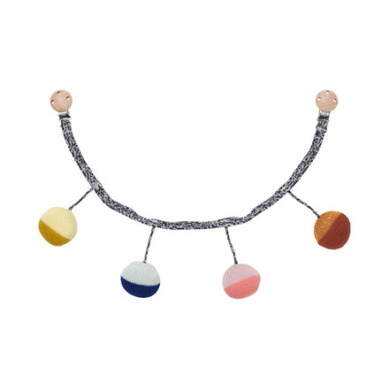 Ferm Living Ball Knitted Pram Chain