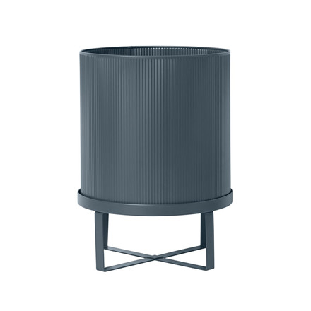 Ferm Living Bau Pot Dark Blue Large