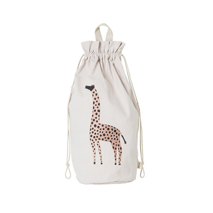 Ferm Living Safari Storage Bag Giraffe