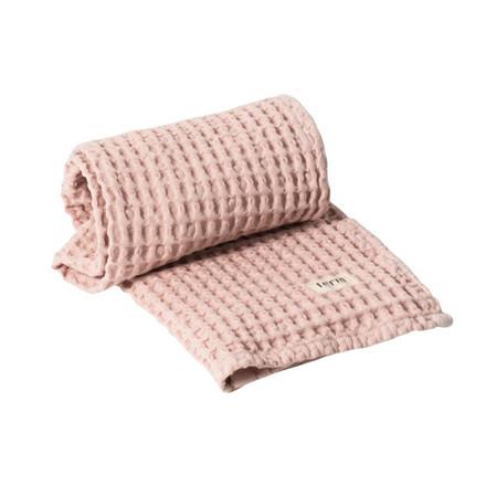 Ferm Living Organic Håndklæde Rosa