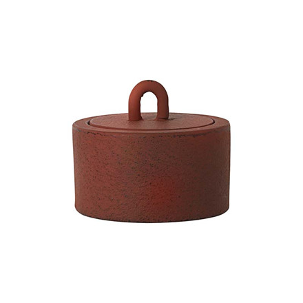 Ferm Living Buckle Jar Rust