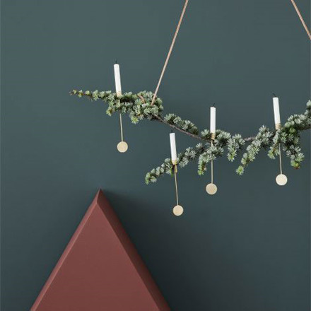Ferm Living Christmas Tree Candle Holders