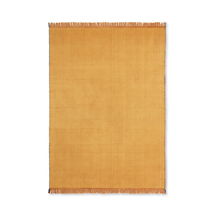 Ferm Living Herringbone Blanket Mustard