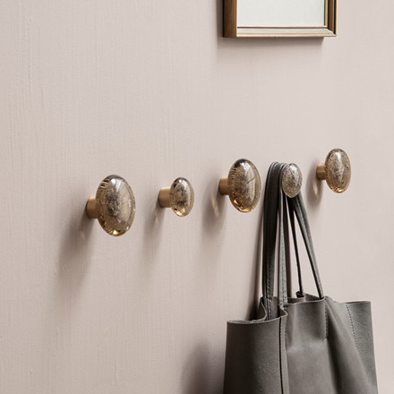 Ferm Living Hook Smoked Bubble Glass Large