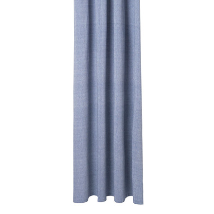 Ferm Living Chambray Shower Curtain Blue