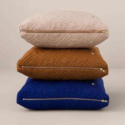 Ferm Living Quilt Cushion Camel 60 x 40