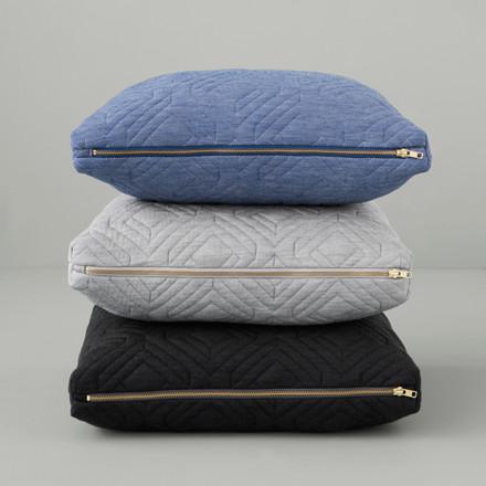 Ferm Living Quilt Cushion Light Blue 60 x 40