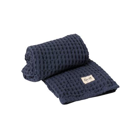 Ferm Living Organic Håndklæde Blå