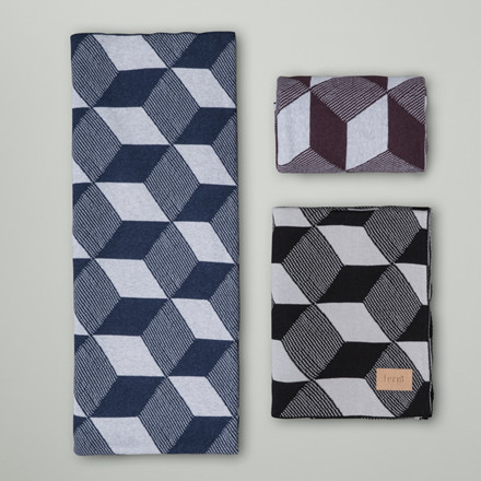 Ferm Living Squares Plaid