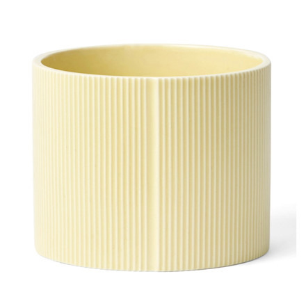 Finnsdottir Pipanella Flower Pot Drum Big Yellow