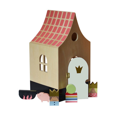 KIDS by FRIIS Put And Play House Eventyr