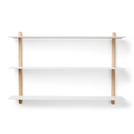 Gejst NIVO Shelf A Light Oak White