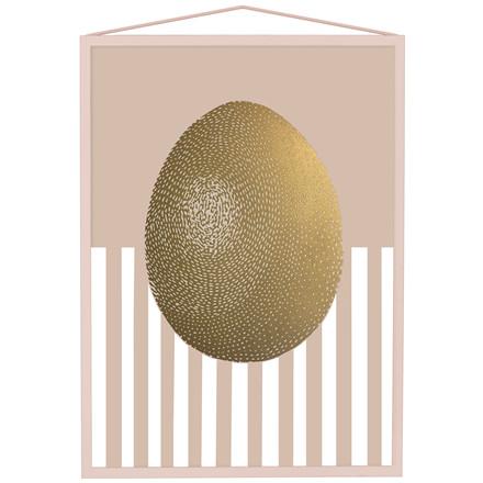 Moebe x Monika Gold Egg A3 Rosa