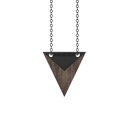 Grundled Nominativ Necklace Black