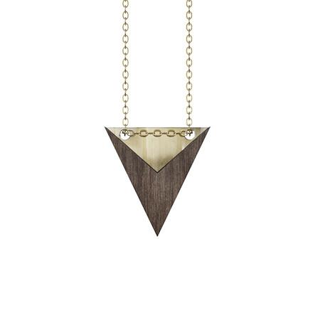 Grundled Nominativ Necklace Gold