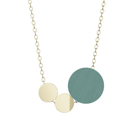 Grundled Syntaks Necklace Dusty Jade