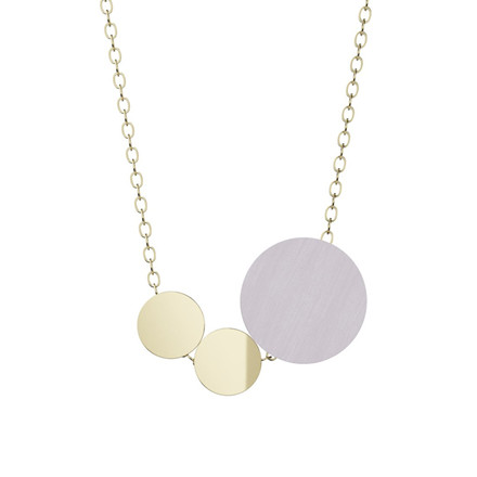 Grundled Syntaks Necklace Pale Lilac
