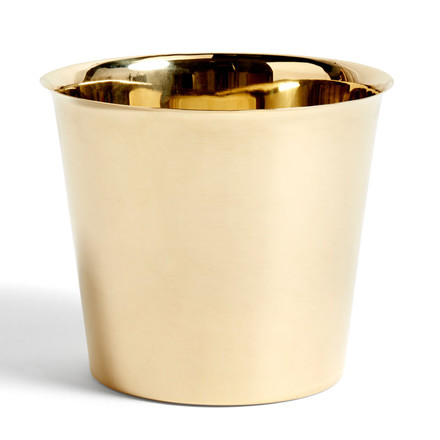 HAY Botanical Family Pot XL Brass