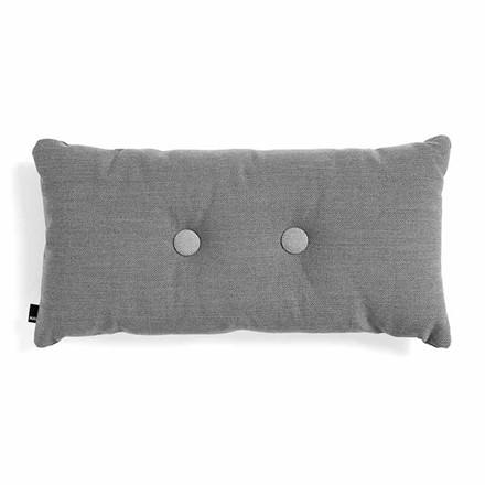 HAY Dot Cushion ST 2 Dots Dark Grey
