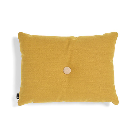 HAY Dot Cushion ST 1 Dot Golden Yellow