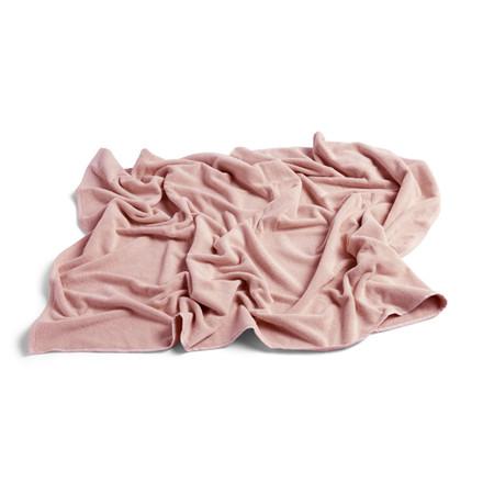 HAY Frotté Bath Towel Rose
