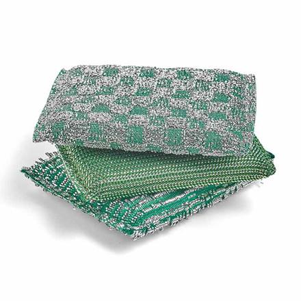 HAY Glitter Sponge Set of 3 Green