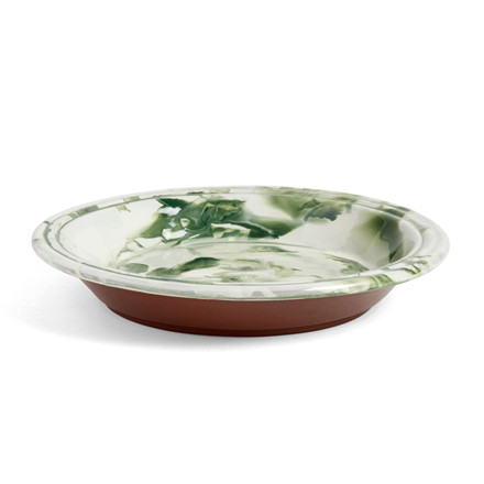 HAY Swirl Bowl Green