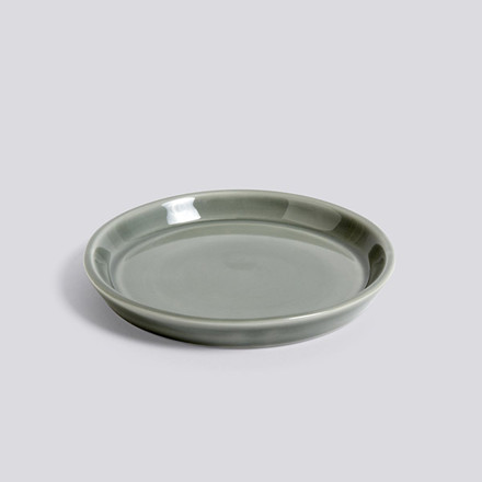 HAY Botanical Family Saucer M Dusty Green