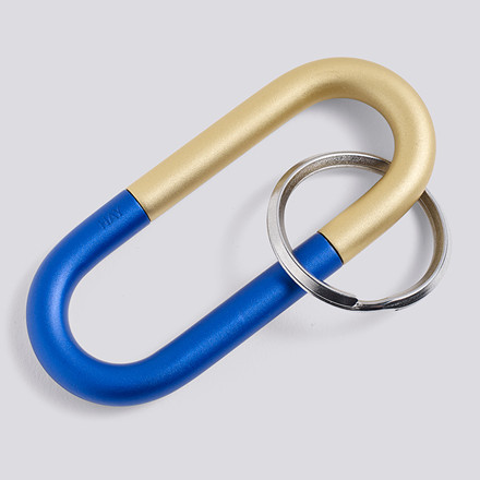 HAY Cane Key Ring Blue