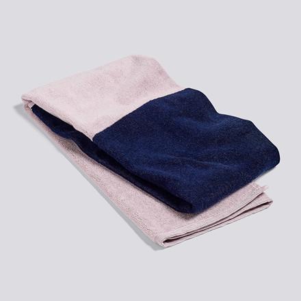 HAY Compose Bath Towel Navy Blue