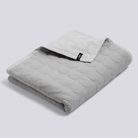 HAY Mega Dot Bed Cover Light Grey 235 x 245 cm