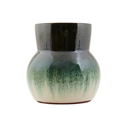 House Doctor Flower Vase Grøn/Hvid
