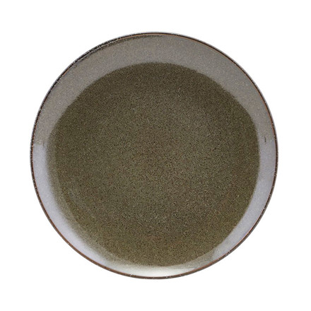 House Doctor Lake Lunch Plate Green