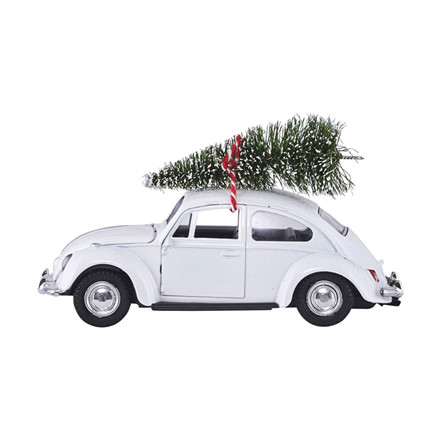 House Doctor Xmas Car White
