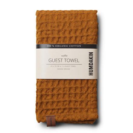 Humdakin Waffle Guest Towel Wood