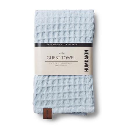 Humdakin Waffle Guest Towel Purple Grey