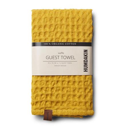 Humdakin Waffle Guest Towel Yellow Fall
