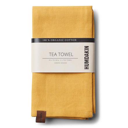 Humdakin Organic Tea Towel Yellow Fall