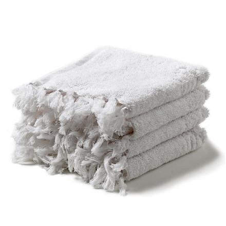 Humdakin Washcloths 4-Pack White